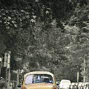 Yellow Bug Poster