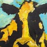 Yellow Cow Poster