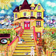 Yellow Dog House Poster