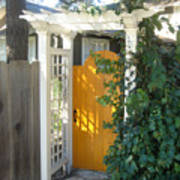 Yellow Door Poster
