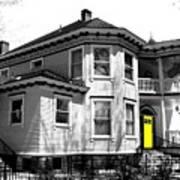Yellow Door Poster by Will Borden