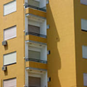 Yellow Dwelling Poster