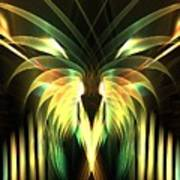 Yellow Plumes Poster