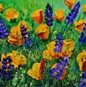 Yellow Poppies 560190 Poster