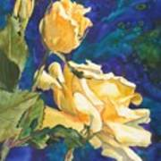 Yellow Rose After Texas Poster