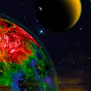 Yellow Sea On Kepler 186d Poster