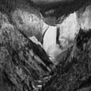 Yellowstone Falls II Poster