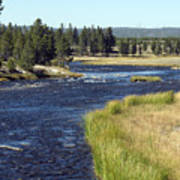 Yellowstone Landscape Poster