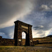 Yellowstone North Gate Poster
