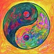 Yin Yang Flow Poster