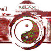 Yin Yang Photo Can Poster