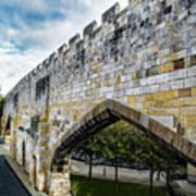 York City Roman Walls Poster