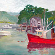 York Harbor Poster