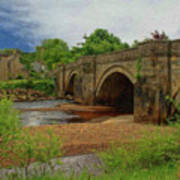 Yorkshire Bridge - P4a16015 Poster