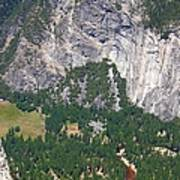 Yosemite Aerial View - California Poster