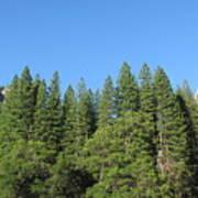 Yosemite Domes Poster
