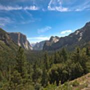 Yosemite Valley 3 Poster