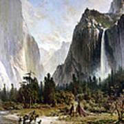Yosemite Valley, C1860 Poster