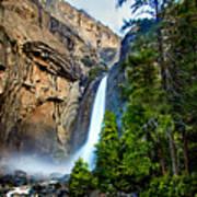 Yosemite Waterfall Poster