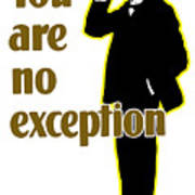 You Are No Exception - Join Now Poster