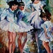 Young Ballerinas Poster