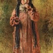 Young Gypsy By Konstantin Makovsky Poster