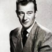 Young John Wayne, Hollywood Legend Poster