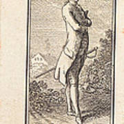 Young Man Bareheaded, With Sword Poster