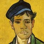 Young Man With A Hat Poster