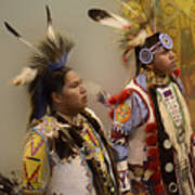 Pow Wow Young Men Poster