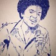 Young Michael Jackson Poster