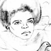 Young Micheal Jackson  Poster by HPrince De Artist