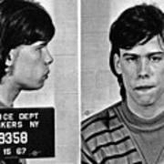 Young Steven Tyler Mug Shot 1963 Pencil Photograph Black And White Poster
