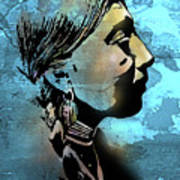 Young Wishram Woman Poster