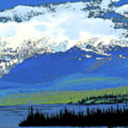 Yukon Mountain Range 3 Poster