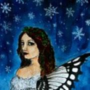 Yuletide Fairy Poster