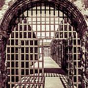 Yuma Territorial Prison Gate Poster