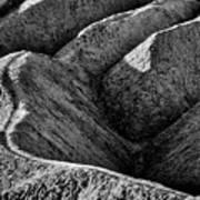 Zabriskie Point Badlands - Death Valley Poster