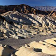 Zabriskie Point In Death Valley Poster