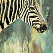 Zebra Abstracts Too Poster
