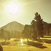 Zeehan Golf Course Poster
