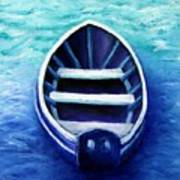 Zen Boat Poster