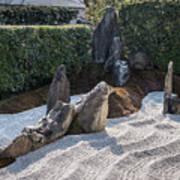 Zen Garden, Kyoto Japan 2 Poster