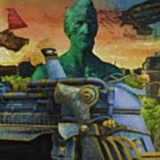 Abe City Zephyr Poster