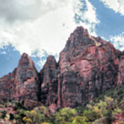 Zion Canyon Terrain Poster