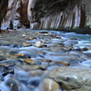 Zion National Park Narrows Poster