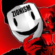 Zionism Devil Poster