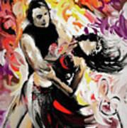Zouk Lambada Dance Poster