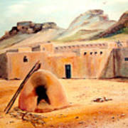Zuni - Pueblo Poster