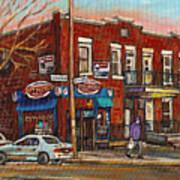Zytynsky's Deli Rosemont Montreal Poster